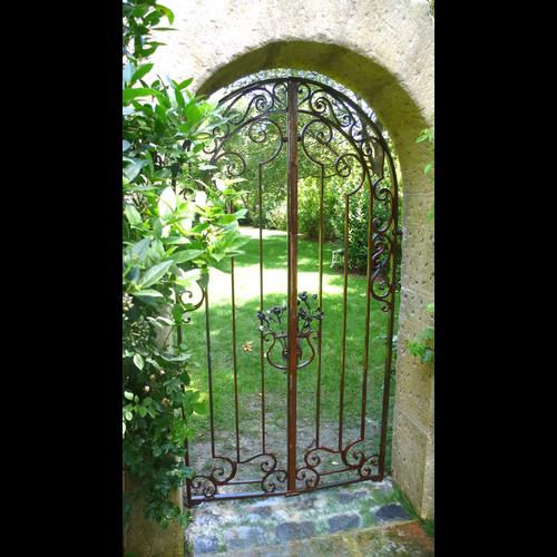 Garden gate - French Ironwork - Provence - Traditional ...